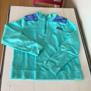 Vineyard vines shep shirt with whale embroidery